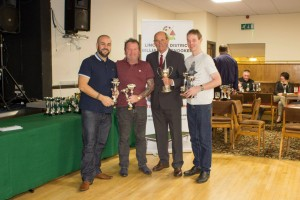 Billiards Team Knockout Winners - Lincoln Snooker Club A