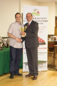Jack Wilkinson Trophy Highest Break (61) - Matt Lee